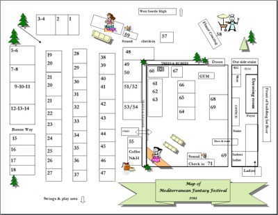 Click to find out more about Map of Med Festival Grounds